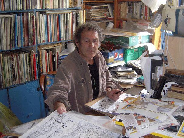 Bernard Capo, dessinateur de BD - Regard novembre 2013 - Cliquez sur l'image pour lire son portrait