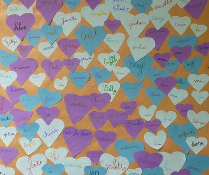 Fête des 100 jours d'école, 100 mots préférés
