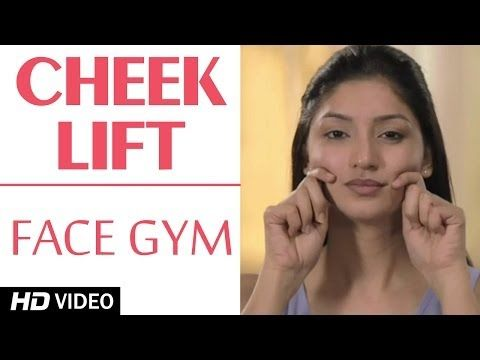 Face Gym - Tone Cheek Muscles HD | Asha Bachanni - YouTube