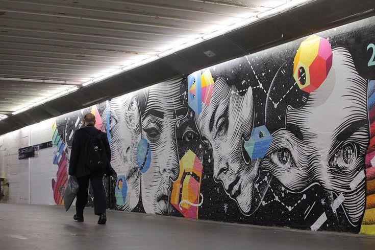 Dourone (2015) - Gare du Nord, Paris (France)