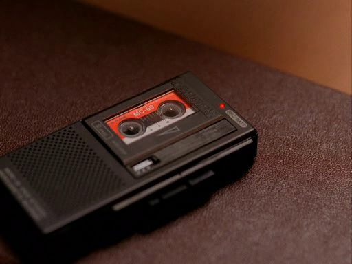 Dale Cooper's Tape Recorder as Diane, the Portable Speaker