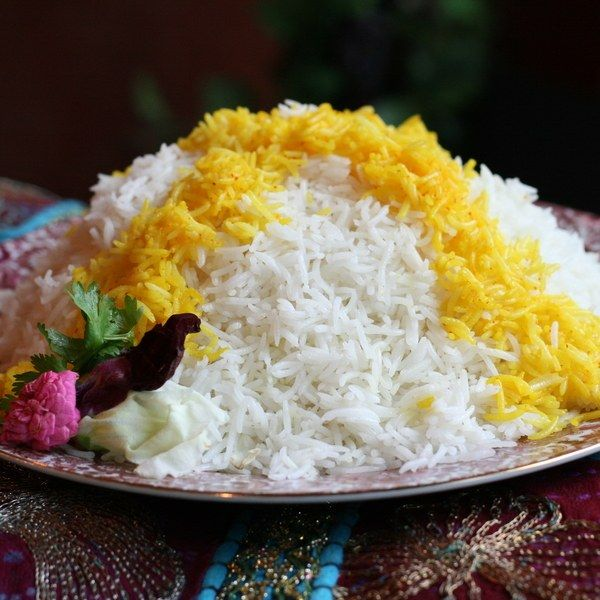 Persian Steamed White Rice _(Chelo)_