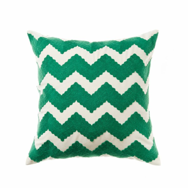 Home republic flame stitch emerald soft furnishings for Soft furnishings online