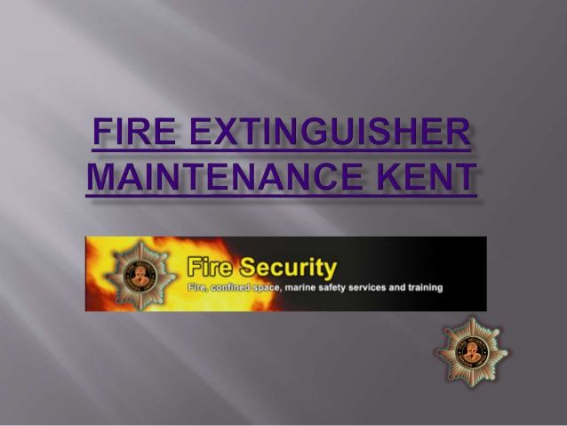Fire extinguisher maintenance Kent  And Home Counties Fire Protection. Suppliers of fire extinguishers, safety signs, fire blankets, extinguisher inspection, Kent,
