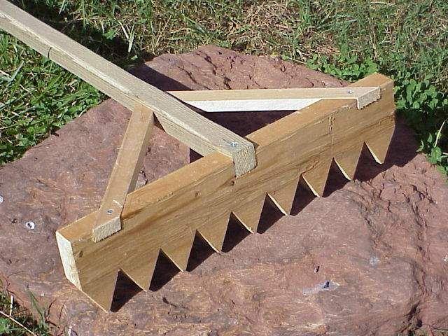 Japanese Rake Garden | Gravel or sand-rake construction finishing notes