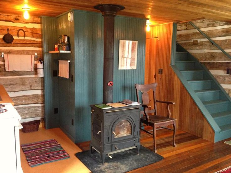 Tiny, cozy, cute... -Ginn trout-river-log-cabin-3
