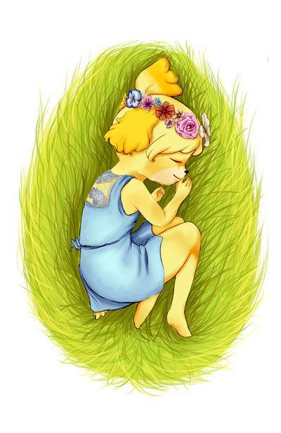 Animal Crossing Queen Isabelle Art Print Animal