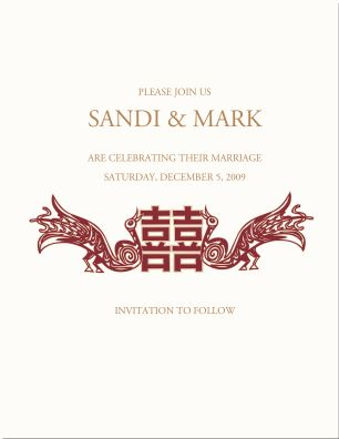 23 Best Double Happiness Images On Pinterest Wedding Stationery