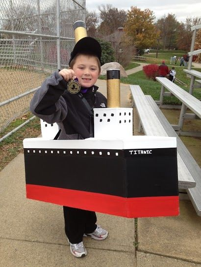 First Place for the Titanic Costume
