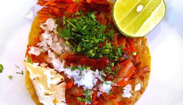 Yummy! Tacos al pastor!
