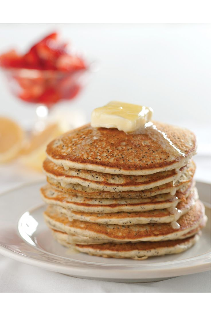 Lemon, Poppy Seed, & Cannabis Pancakes    Opium poppy seeds — believed to promote sleep, fertility, and abundance — have been used in food and medicine for thousands of years.