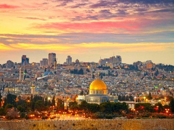 10. legszebb város a világon: Jeruzsálem, Izrael