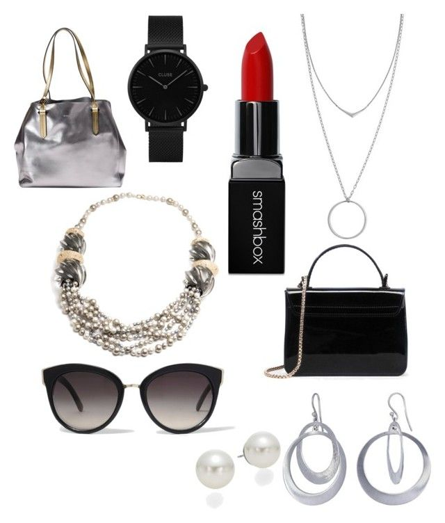 """""""Key accessories"""" by syddeon on Polyvore featuring Kendall + Kylie, River Island, Smashbox, AK Anne Klein, Botkier, CLUSE, Alexis Bittar and Kothari"""