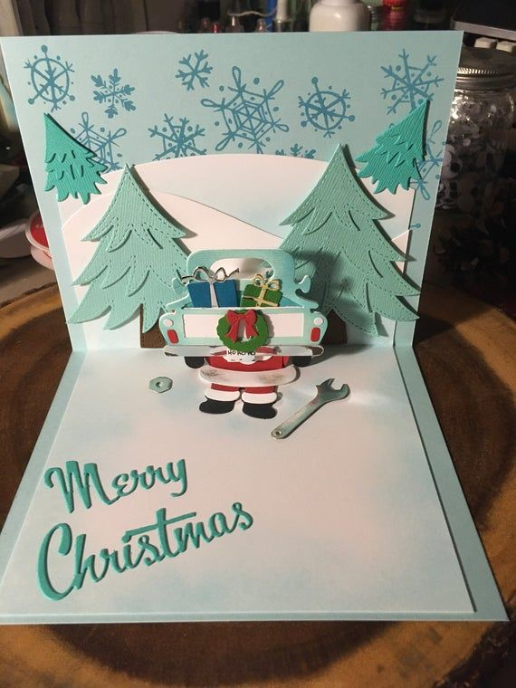 Handmade Pop Up Christmas Getting Ready For Christmas New Year Cards Handmade Christmas Cards Handmade Cards Handmade