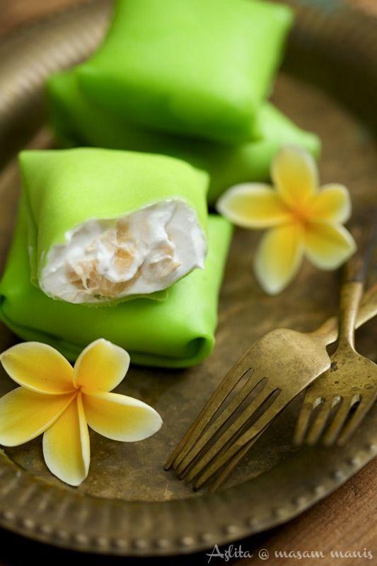 aigre doux: Crêpe durian / crêpes durian