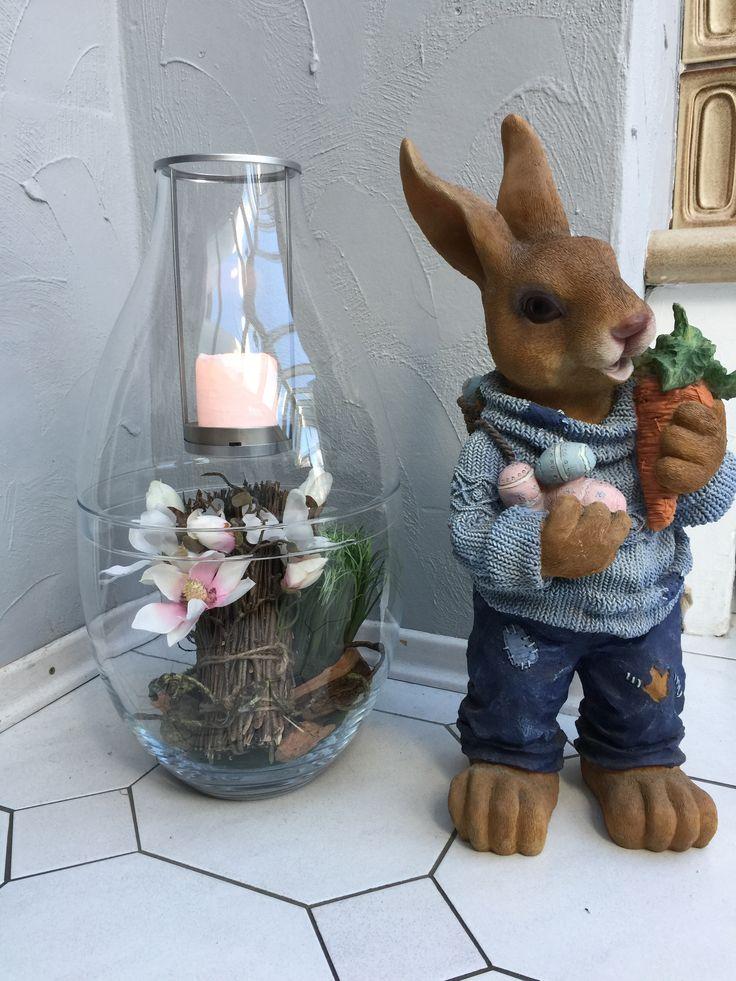 Der Kerzenhalter Clearly Creative eignet sich wunderbar für Oster-Deko!