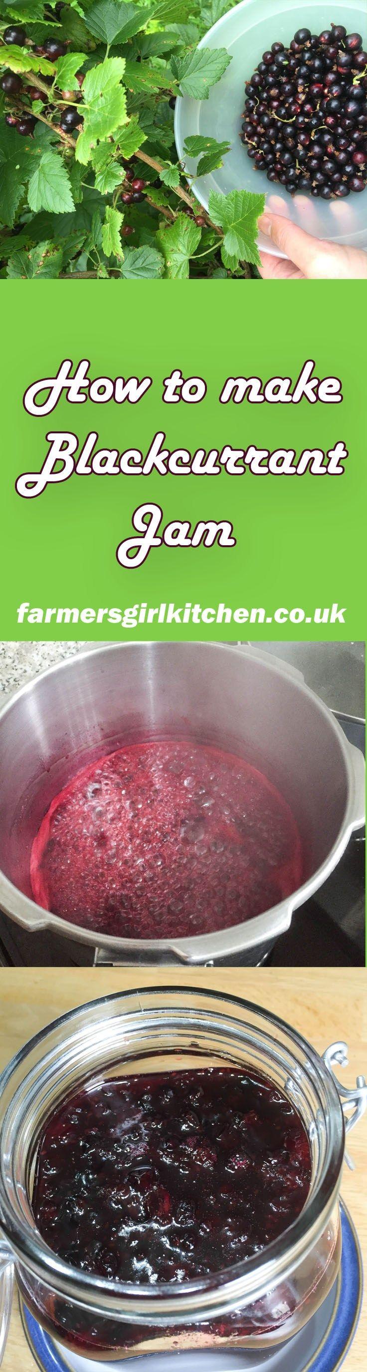 How to make Blackcurrant Jam