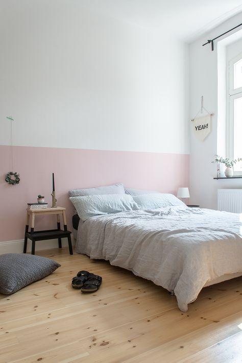 Die besten 25+ Rosa wände Ideen auf Pinterest Rosa - oster möbel schlafzimmer
