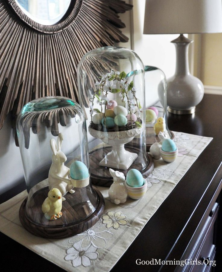 Easter Display Ideas: 106 Best Images About Glass Display Domes On Pinterest
