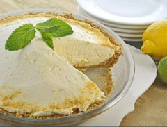 No-Bake Lemon Lime Mousse Pie | Recipe