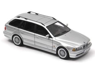 This BMW 530 D Touring E39 (2002) Resin Model Car is Silver. It is made by Neo and is 1:43 scale (approx. 10cm / 3.9in long). ...