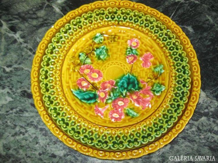 Villeroy majolika tányér