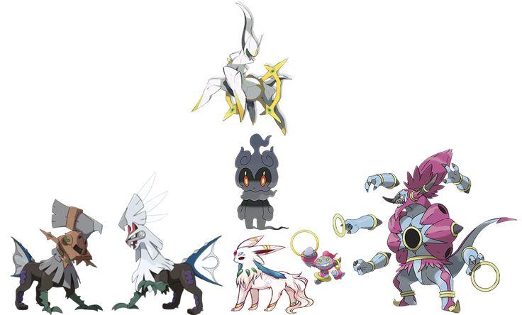 legendary pokemon team of arceus