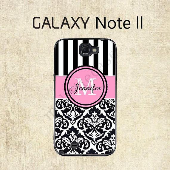 Galaxy Note 2 Case   Damask Stripe Galaxy Case  by mylittlecase, $15.95