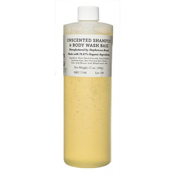 Unscented Shampoo Body Wash Base