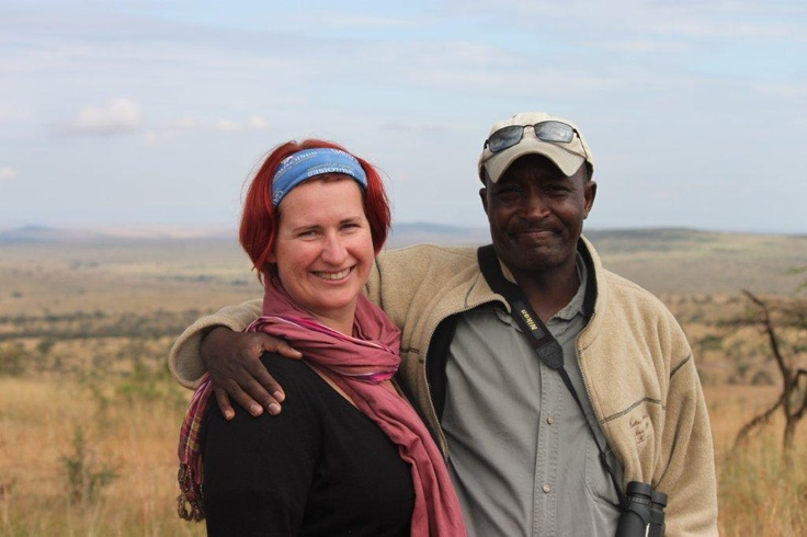 Out and about in the #MasaiMara.