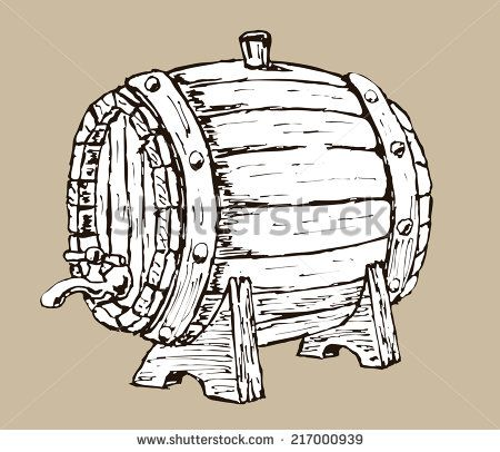 stock-vector-vector-hand-draw-doodle-sketch-wooden-beer-barrel-cartoon-217000939.jpg 450×406 pixels