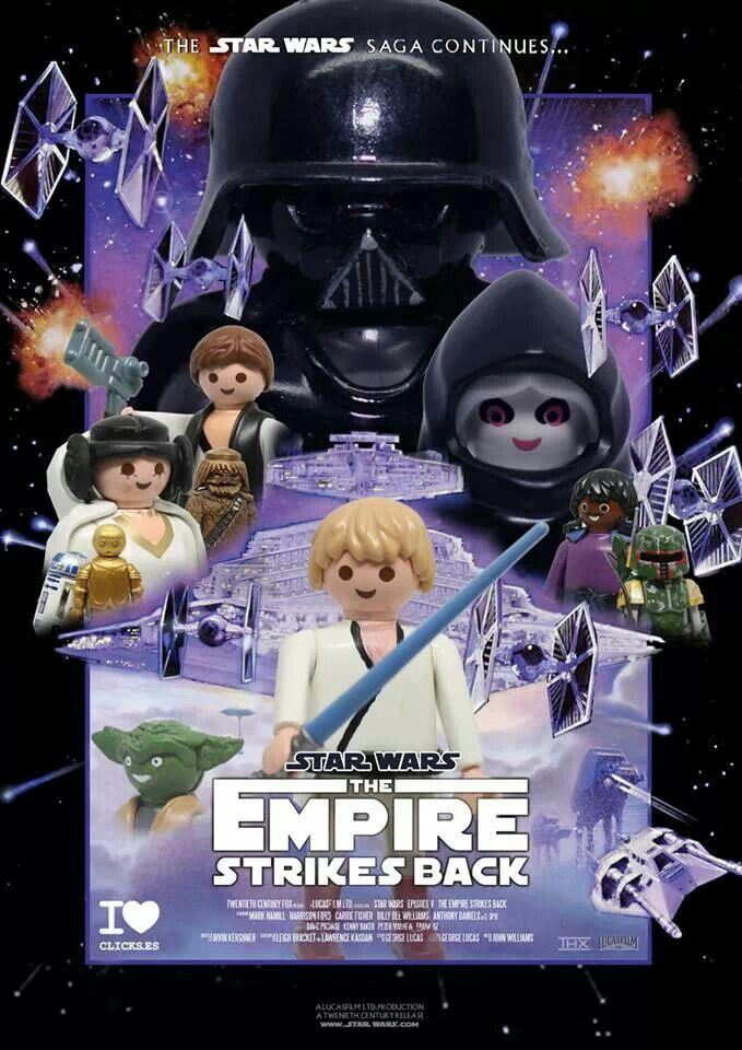 Playmobil Star Wars....exemple de créations rélisée par des fans....pas en vente ! http://www.playboutik.com/
