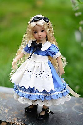 """""""Alice in Wonderland""""Dress,Outfit,Clothes for 13""""Effner Little Darling"""