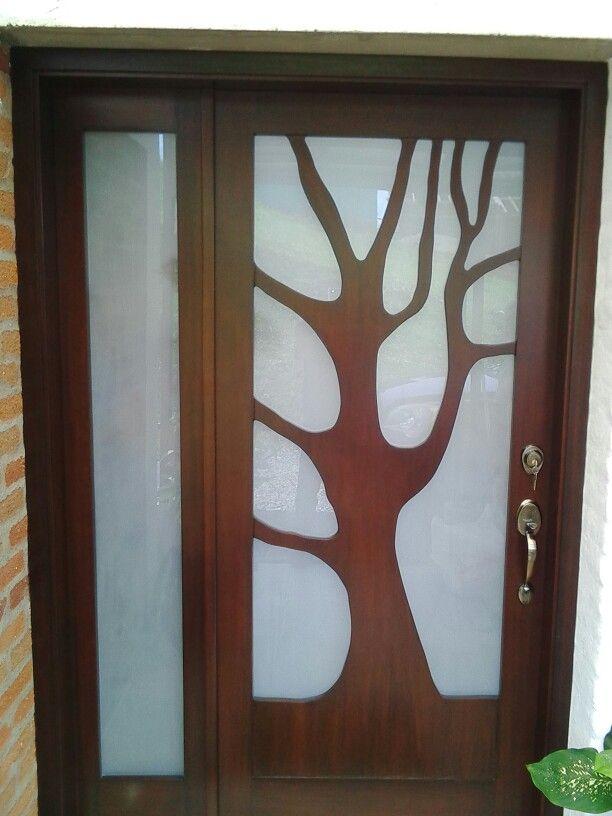 Puerta arbol