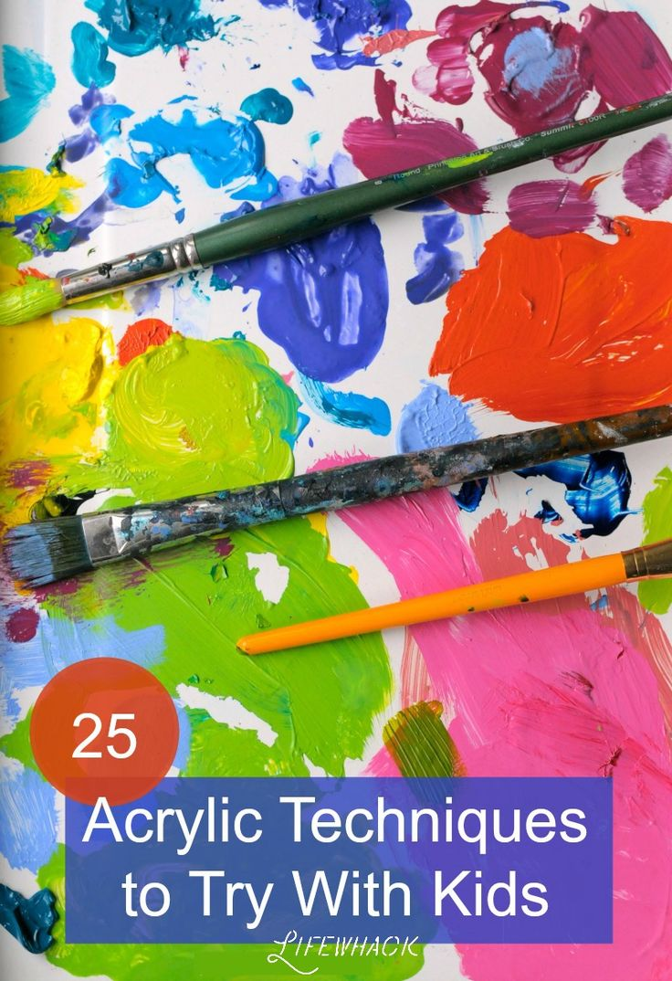 25 Acrylic Painting Techniques To Try