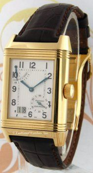 Jaeger-LeCoultre Q3001420 Reverso Grande Date, Yellow Gold Price $13,250.00