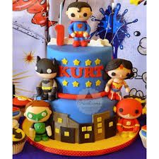 Image result for justice league cake