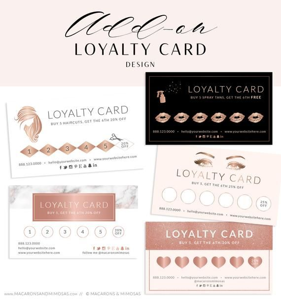 Loyalty Card Add On Business Card Lip Punch Card Lipsense Loyalty Cards Spray Tan Loyalty Card Hair Salon Loyalty Card Design Beauty Business Cards Loyalty Card