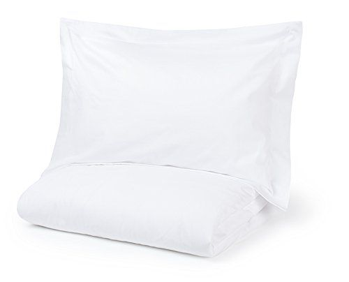 From 25.00:Cot Bed Duvet Cover and Oxford Pillow Case Classic White