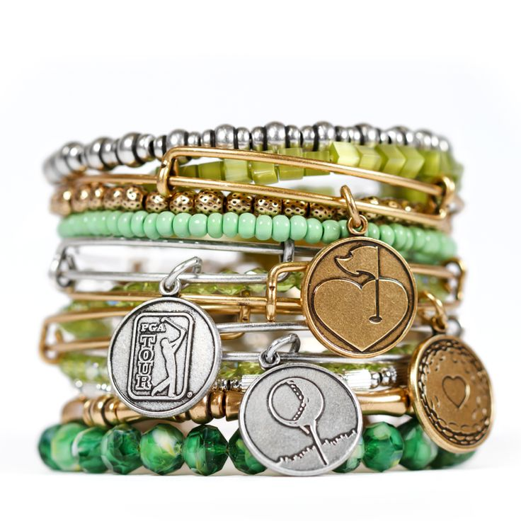 Really awesome GOLF bangles!  <3