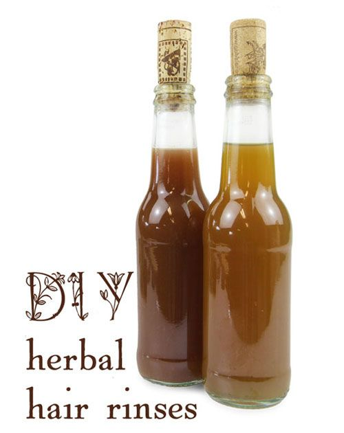 Go No-Poo: 3 Herbal Hair Rinses by Erin McIntosh on Mother Earth Living