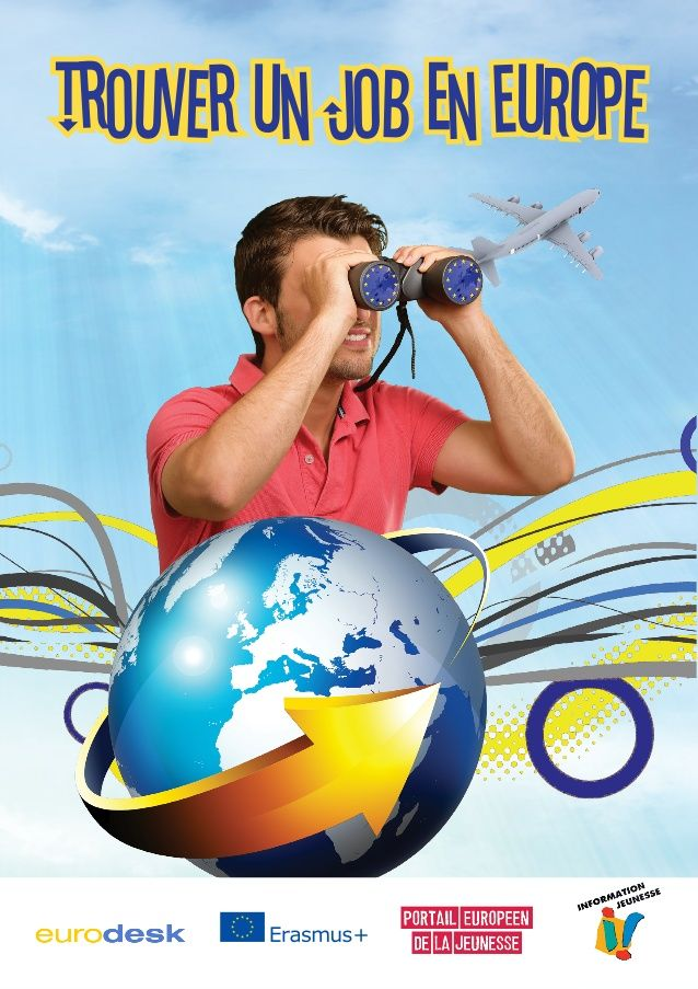 Trouver un job en Europe 2015 - Brochure Eurodesk by CIDJ via slideshare