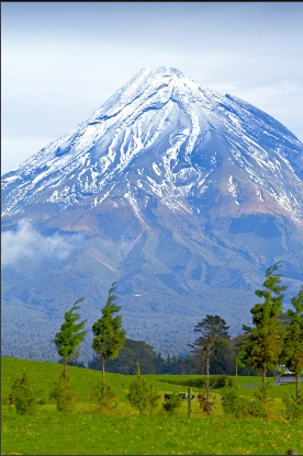 """Mount Egmont - North Island, New Zealand Although it is located in New Zealand, Mount Egmont, or Mount Taranaki as it's really named, looks so much like Mt. Fuji that it was used as such in the movie, """"The Last Samurai.""""Contact a Maupintour agent to book your trip at 877-874-7776 or visit www.maupintour.com"""