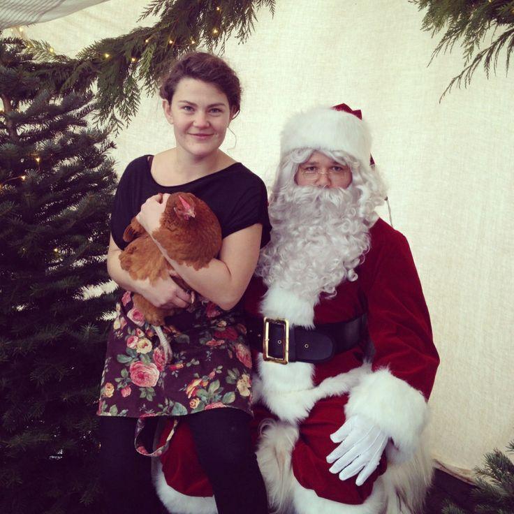 Santa, Miss Brown and I