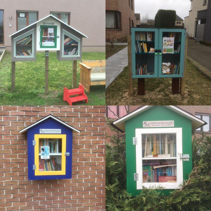 Little Free Libraries in Destelbergen en Sint-Amandsberg (Gent)