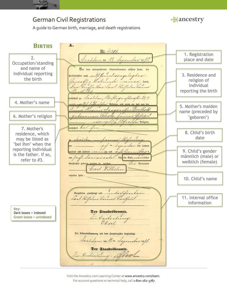3359 best Genealogy images on Pinterest Family tree chart, Family - fresh german birth certificate template
