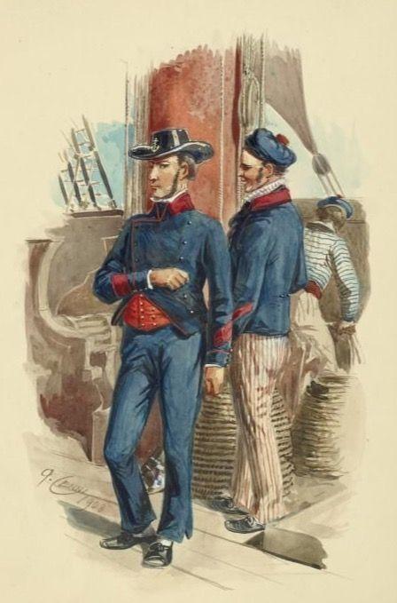 Marinai del regno delle due Sicilie