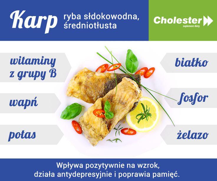 Macie sprawdzony przepis na karpia?  Sprawdźcie, co kryje w sobie wigilijna ryba: http://www.cholester.pl/blog/przepis-na-karpia.html #cholester #karp #ryba #dieta #swieta #wigilia #zdrowie