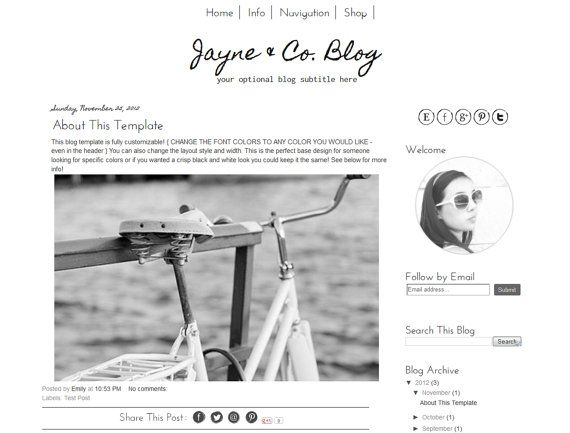 27 best Blogger Templates images on Pinterest | Blogger templates ...