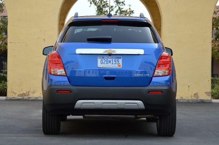 2015 Chevrolet Trax - rear